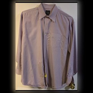 "Brooks Brothers Dress Shirt. Size 17.5 x35""."